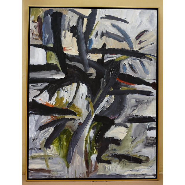 """Laurie MacMillan """"Pathways"""" Abstract Painting For Sale In Los Angeles - Image 6 of 6"""