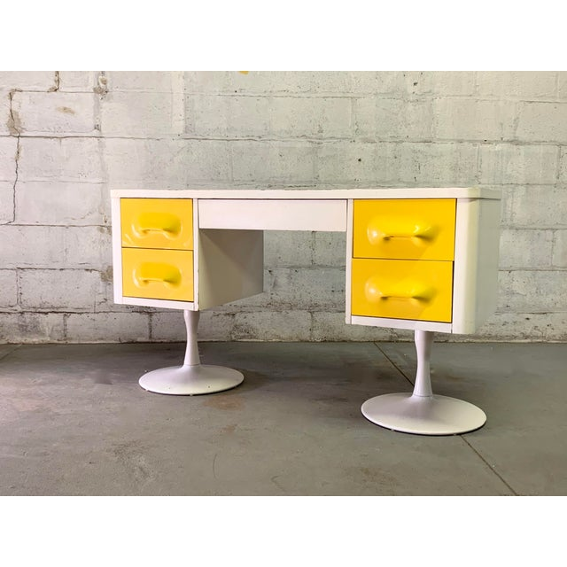 Rare Mid Century Modern Broyhill Premier Chapter One Desk For Sale - Image 11 of 11