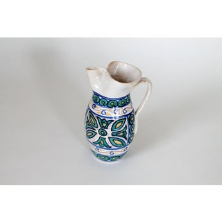 Hand Painted Spanish Pitcher Preview
