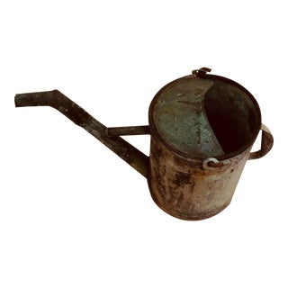 Early 20th Century Antique Watering Can For Sale