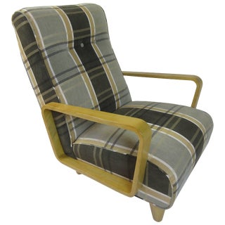 Edward Wormley for Dunbar Early Open Arm Lounge Chair For Sale