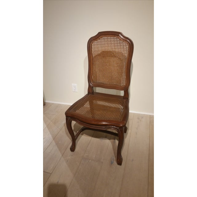 French Cane Back and Seat Side Chair - Image 4 of 6