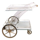 Image of Maison Jansen Bar Cart For Sale