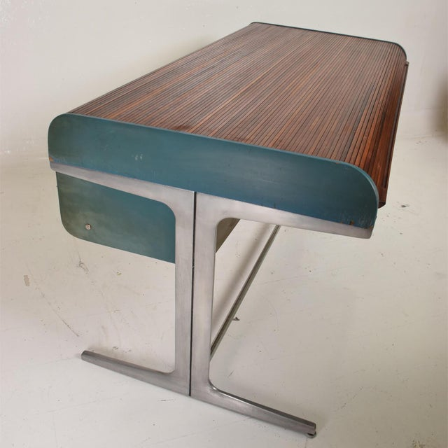 Rare Mid Century Modern Action Desk by George Nelson & Robert Propst Herman Miller For Sale - Image 9 of 10