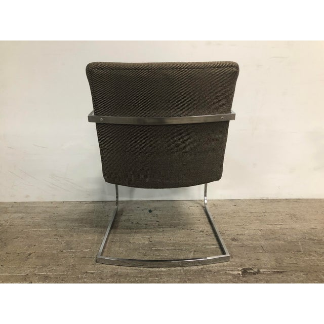 Mid-Century Modern 1960s Original Milo Baughman for Thayer Coggin Lounge Chairs - a Pair For Sale - Image 3 of 9