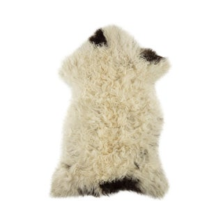 "Contemporary Hand-Tanned Sheepskin Pelt - 2'1""x3'2"" For Sale"