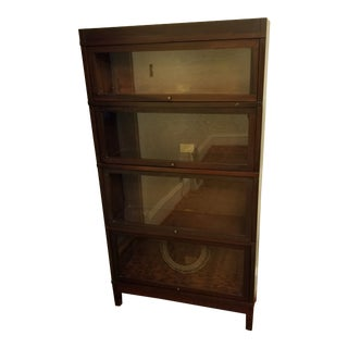 Vintage Wernicke Barrister Bookshelf For Sale