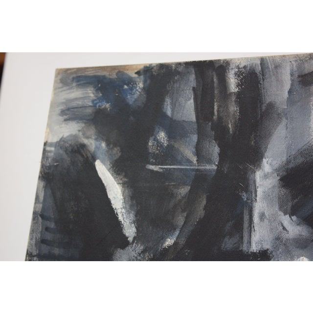 Abstract 'Aspen' Gouache on Board by Elizabeth Nachman Erlanger For Sale In New York - Image 6 of 13