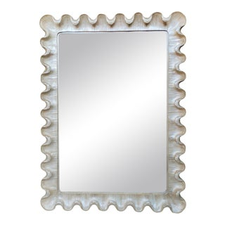 20th Century Hollywood Regency Style Wall Mirror For Sale