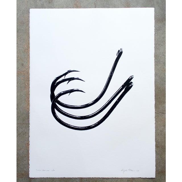 "Kyle Brown ""Circle Hook Trio"" Screen Print For Sale In Charleston - Image 6 of 6"