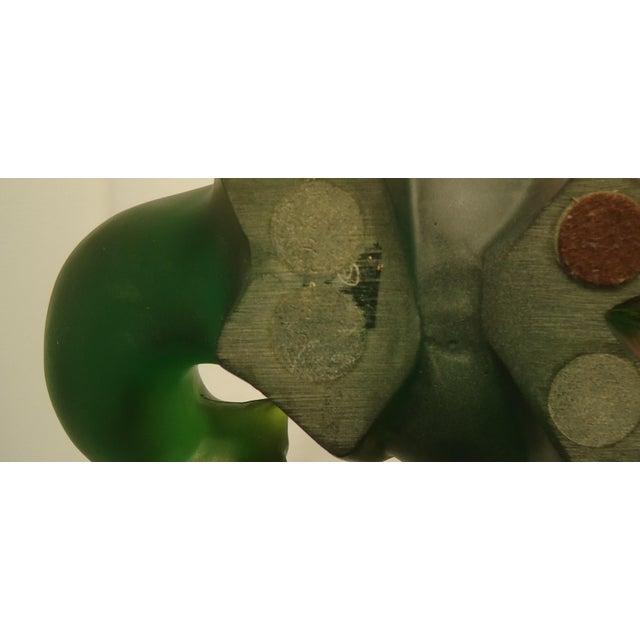 Sascha Brastoff Green Resin Bears - Pair - Image 7 of 8