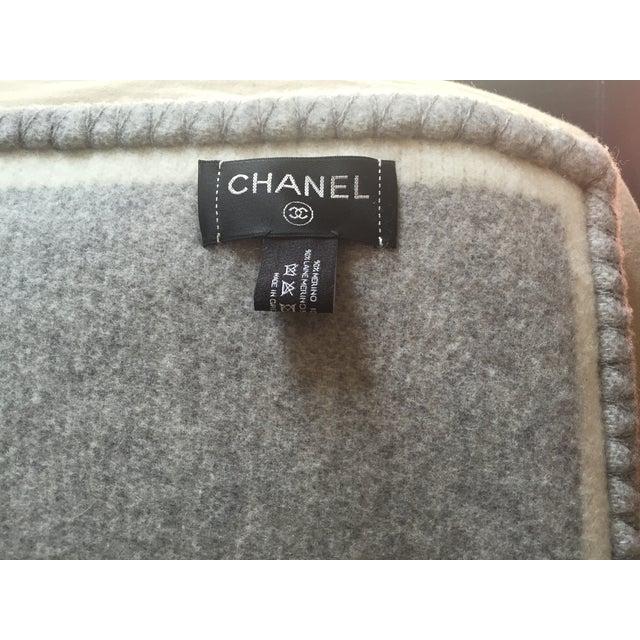 Chanel Wool Blanket - Image 3 of 6