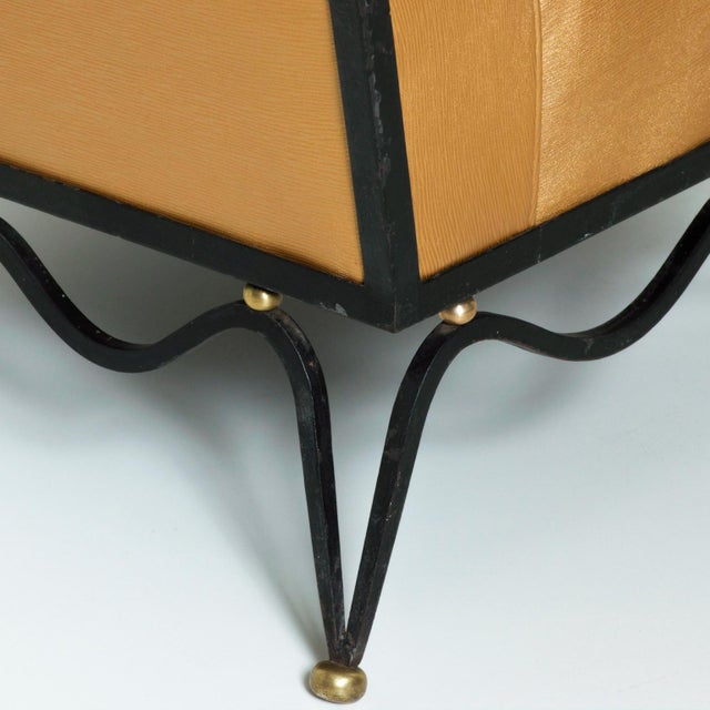 French Neoclassical Revival Mexican Modernist Arm Chairs Attr Arturo Pani - a Pair For Sale - Image 10 of 12