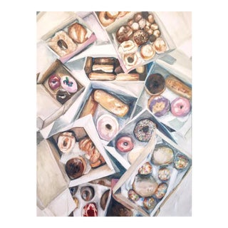 """""""Please Donut Ever Stop Loving Me"""" Giclee Print by Sophie Hoad Halma For Sale"""