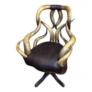 Wenzel Friedrich Antique Horn Chair