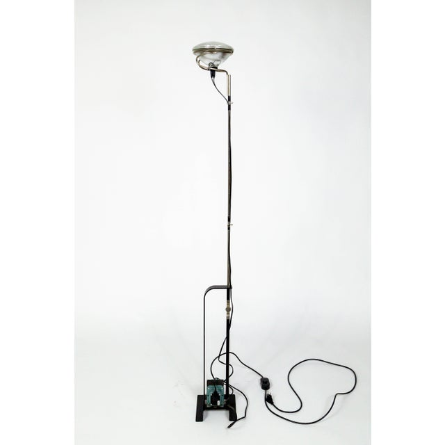 Castiglioni Toio Industrial Black Floor Lamp by Flos For Sale - Image 13 of 13