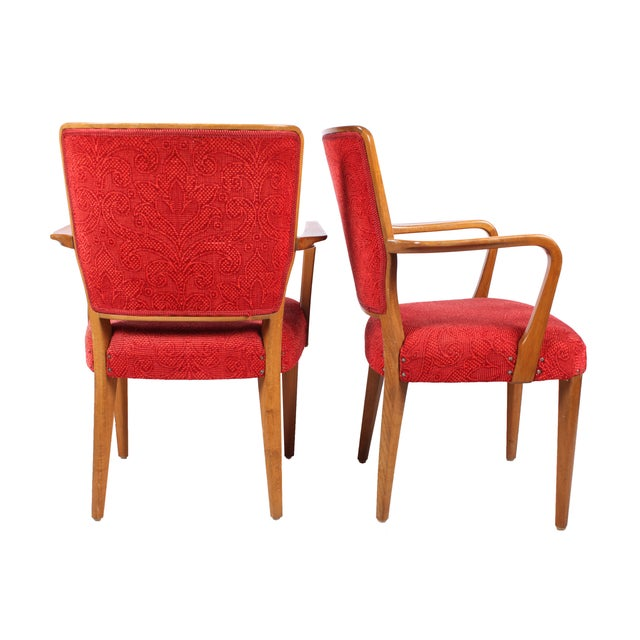 Mid-Century Modern Armchairs - A Pair - Image 2 of 3