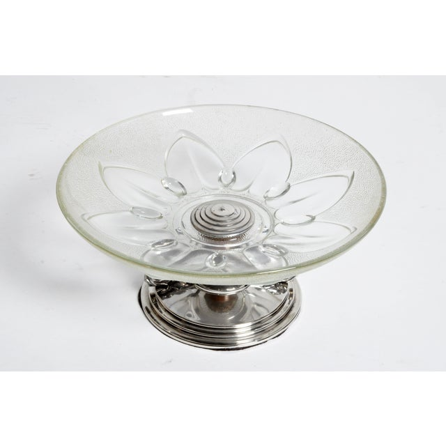Glass Candy Dish For Sale - Image 4 of 10