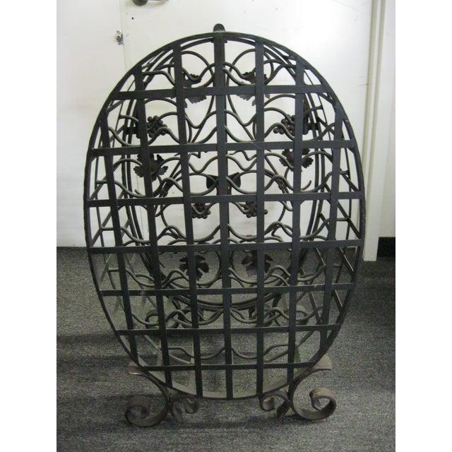 Custom Wrought Iron 24-Bottle Wine Cage - Image 7 of 10