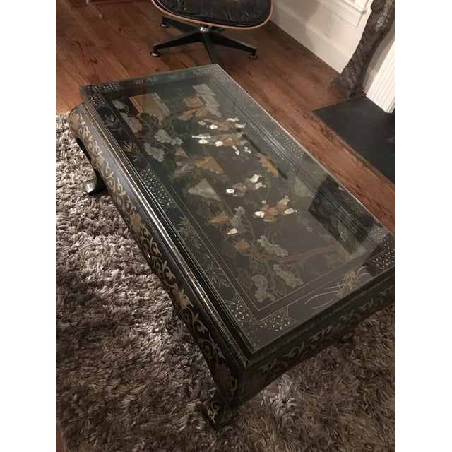 This lovely 1920s oriental (japannoise / chinoiserie) table is from a lovely antiques shop in Eton HighStreet (near...