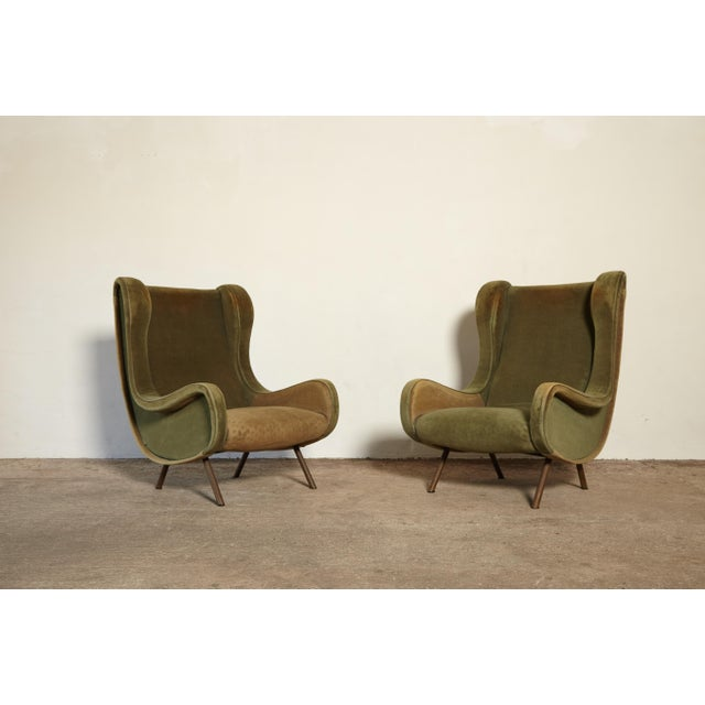 Mid-Century Modern Marco Zanuso Senior Chairs, Arflex, Italy, 1960s - for Re-Upholstery For Sale - Image 3 of 10