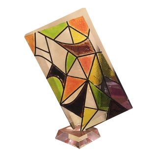 1980s Lucite Acrylic Sculpture For Sale