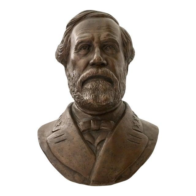Vintage Ulysses S. Grant Bust Sculpture - Image 1 of 8