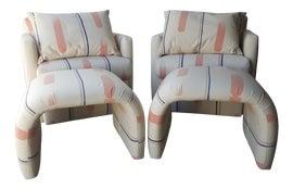 Image of Postmodern Chair and Ottoman Sets