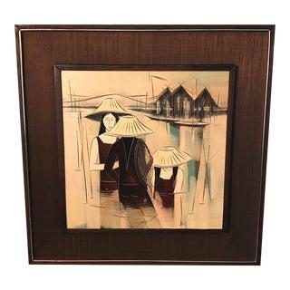 Mid Century Original Art For Sale