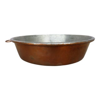 Antique Late 19th Century Copper Baking Pan For Sale