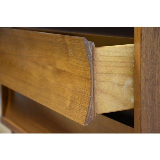 Johnson Carper Walnut and Formica Tall Dresser - Image 8 of 8