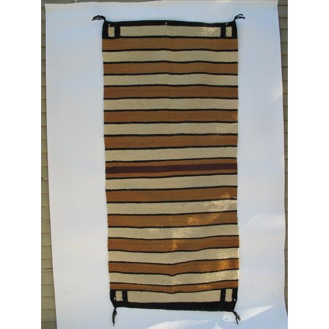 Striped Navajo Rug - 2′6″ × 5′6″ - Image 5 of 10
