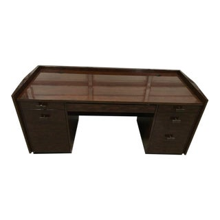 Baker Bill Sofield Modern Normandie Desk For Sale