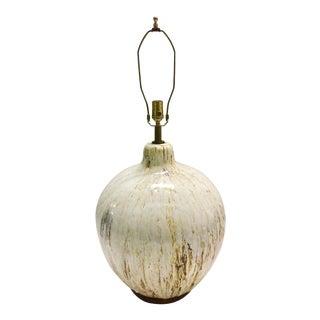 Vintage White Ceramic Lamp