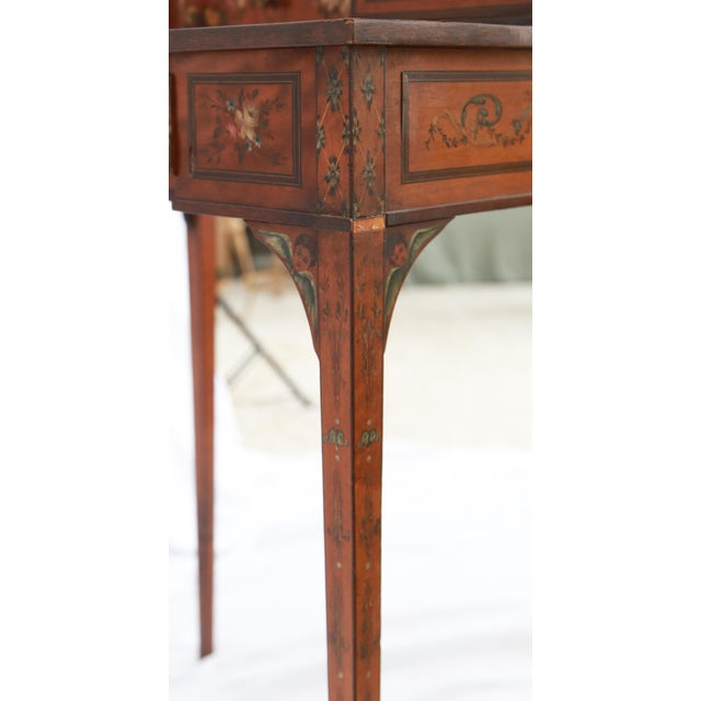 19th Century Federal Hand-Painted Secretary Desk For Sale - Image 11 of 12