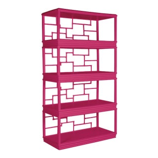Tibet Etagere - Bright Pink For Sale