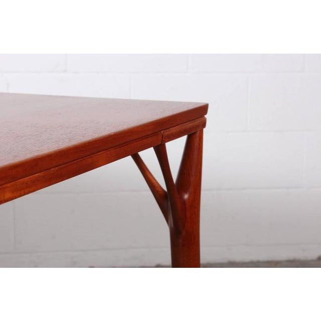 Sculptural Teak Dining Table - Image 8 of 10