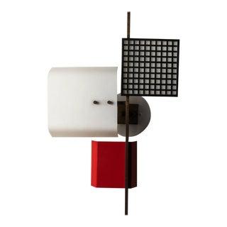1950s Italian Oscar Torlasco for Lumi 3-Panel Wall Light For Sale