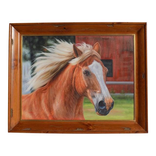 Horse Portrait Painting For Sale