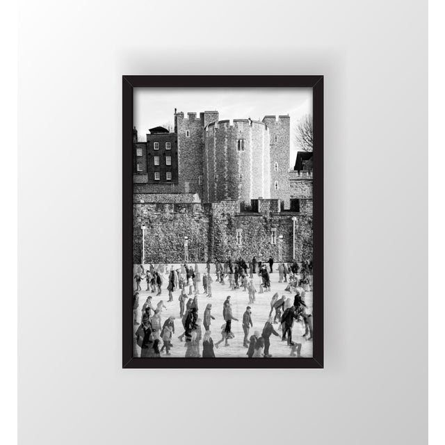 """""""Tower of London Ice Rink"""" Framed Print - Image 2 of 3"""