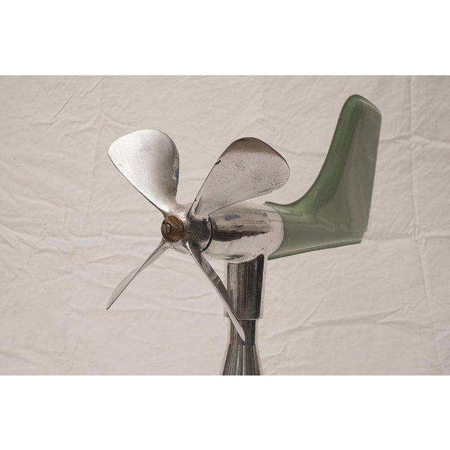 Mid 20th Century Mid-Century Modern Ship's Aerovane and Anemometer For Sale - Image 5 of 7