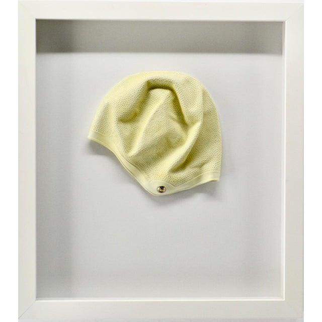 1970s Vintage Swim Cap, Framed For Sale - Image 4 of 4