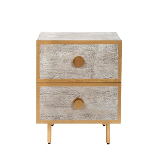 Contemporary Saint Tropez 2 Drawers Nightstand For Sale