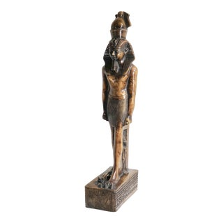 Egyptian King Tut Style Statue For Sale