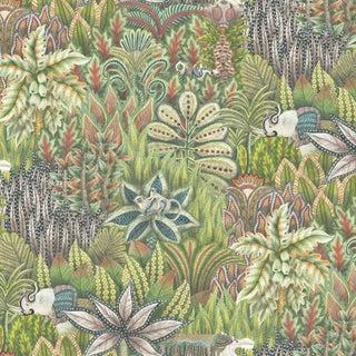 Cole & Son Singita Botanical Style Wide Wallpaper - 11 Yard Roll For Sale