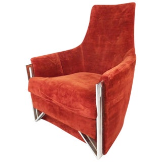 Mid-Century Modern Lounge Chair by Carsons of High Point For Sale