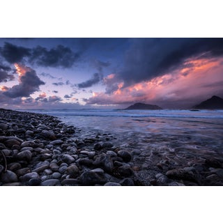 Shoreline at Sunset Photographed by Marc Chittendon For Sale