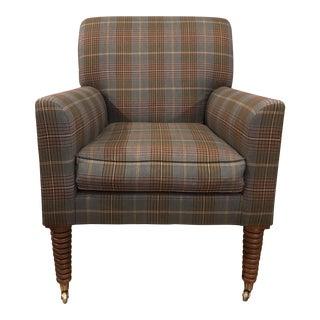 Ralph Lauren Plaid Club Chair
