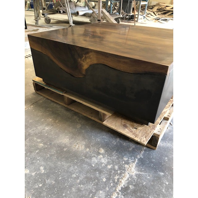 Mixing mediums to create a unique piece is sometimes difficult to achieve, but, we were successful with this table. The...
