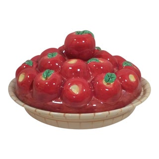 Ceramic Apple Pie Plate For Sale